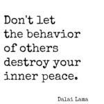 Don't Let The Behavior...