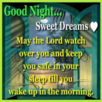 May The Lord Watch Over You....