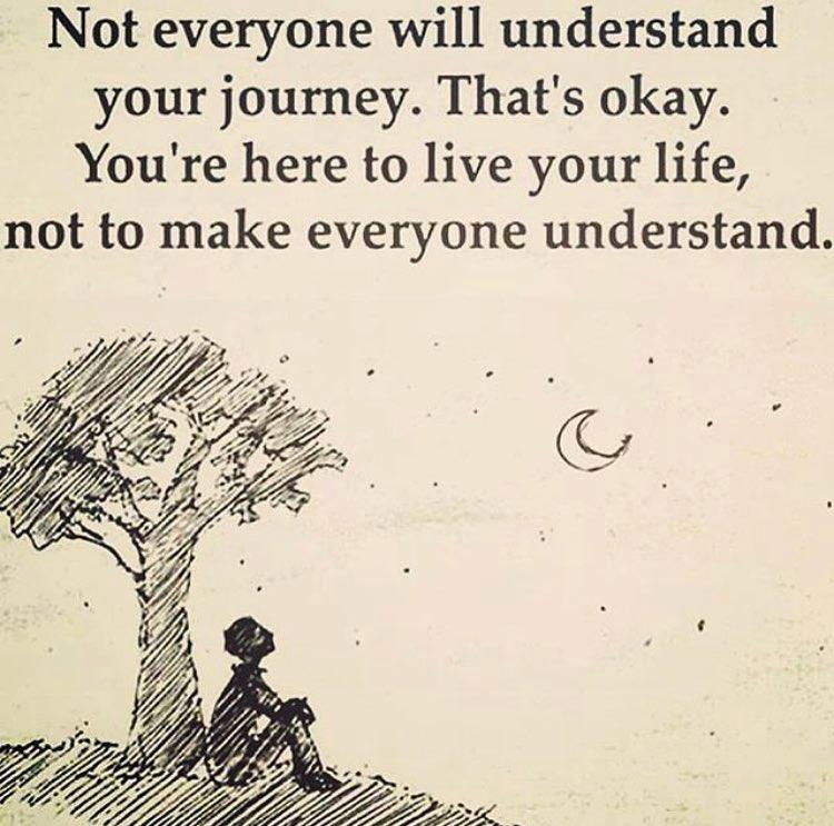 Not everyone will understand
