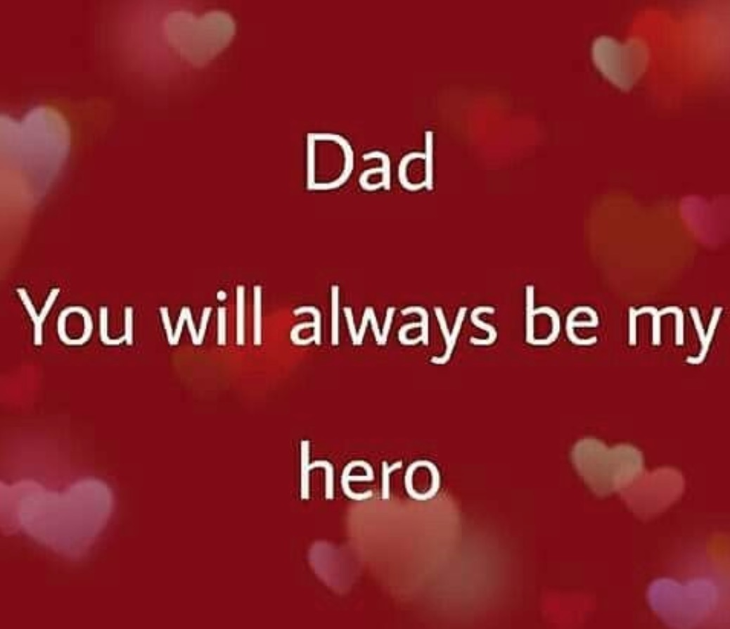 Dad! You Will Always Be