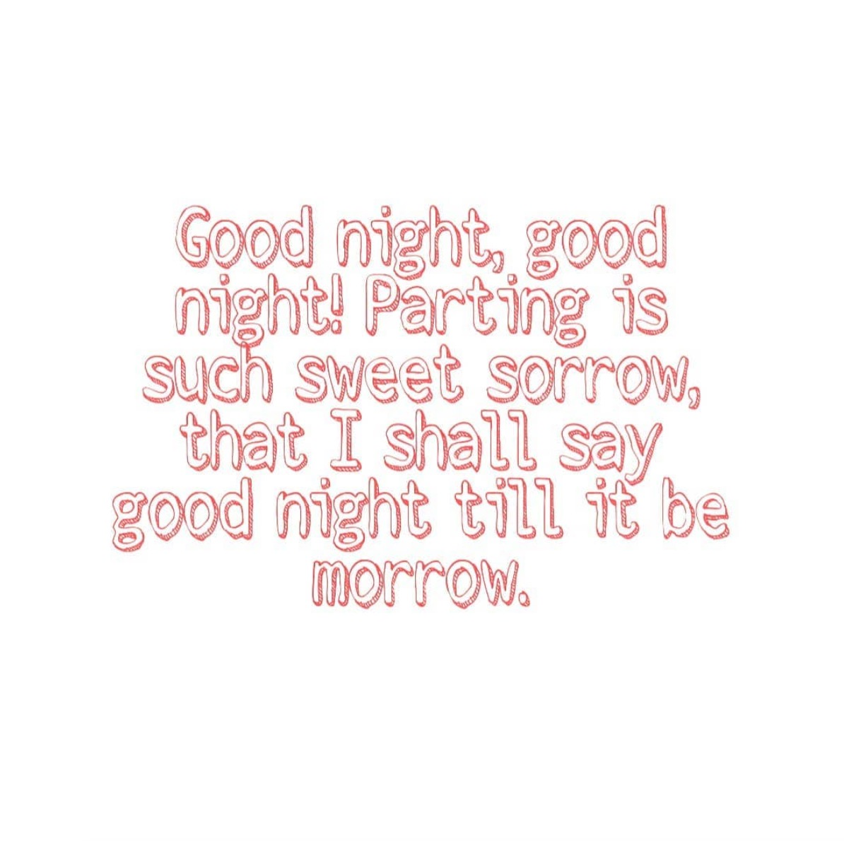 Good Night-Parting Is Such
