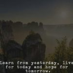 Learn From Yesterday Live...