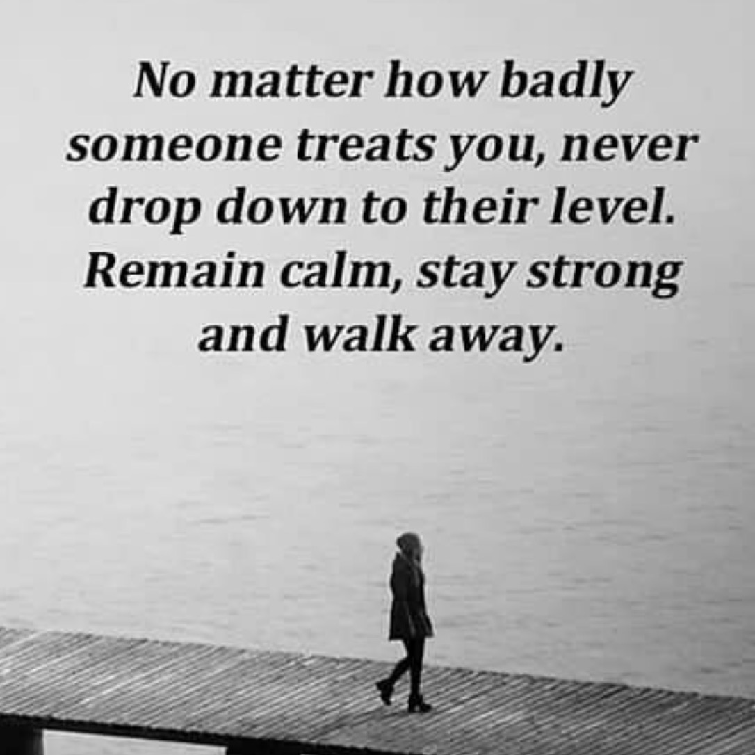 No Matter How Badly Someone