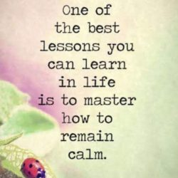 One Of The Best Lessons