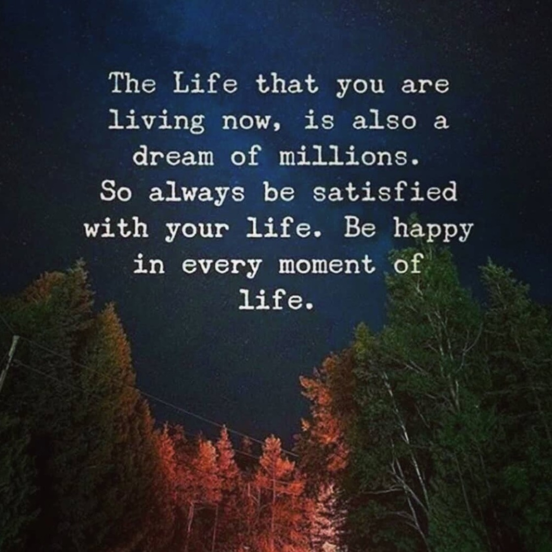 The Life That You Are Living