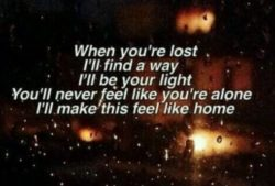 When You Are Lost
