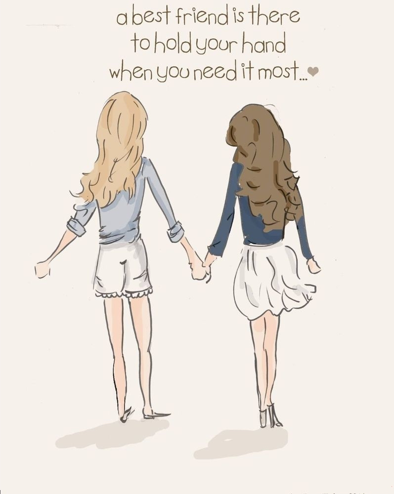 A Best Friend Is There...