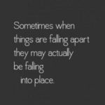 Sometimes When Things Are...