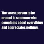 The Worst Person To Be...