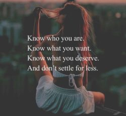 Know Who You Are...
