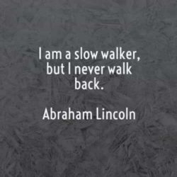 I Am A Slow Walker...