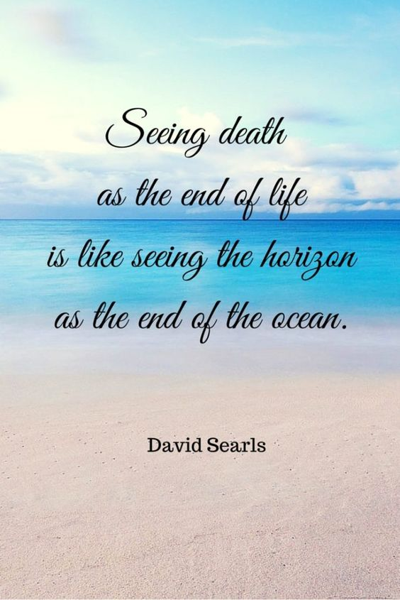 Seeing Death As The...