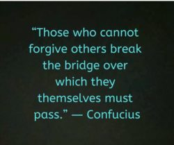 Those Who Cannot Forgive...