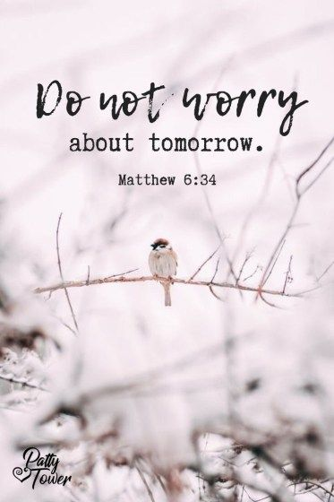 Do Not Worry About...