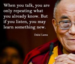 When You Talk...