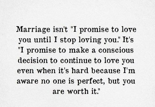 Marriage Is Not I...