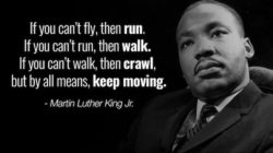 If You Cannot Fly Martin Luther Quote