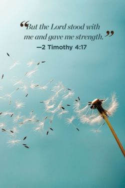 But the Lord Stood With Me