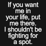 If You Want Me To...